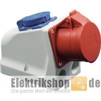 CEE-Wandsteckdose 32A mit Schuko-Steckdose 9225-6 PCE