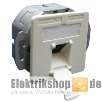 UP Cat.6 Datendose WAEG6V 8 EKR/EK 1f. ws 18870NA Brand-Rex
