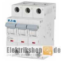 3C16 Leitungsschutzschalter C-16A 3polig PXL-C16/3 Moeller Eaton