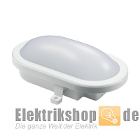 LED-Oval-Armatur IP54 12W weiß EGB