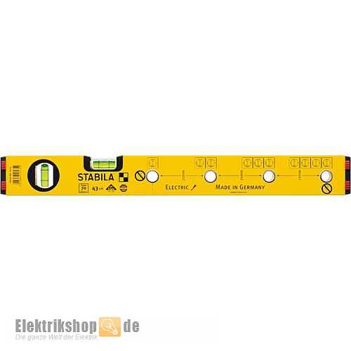 Elektriker Wasserwaage 430 mm Type 70 electric 16135 Stabila