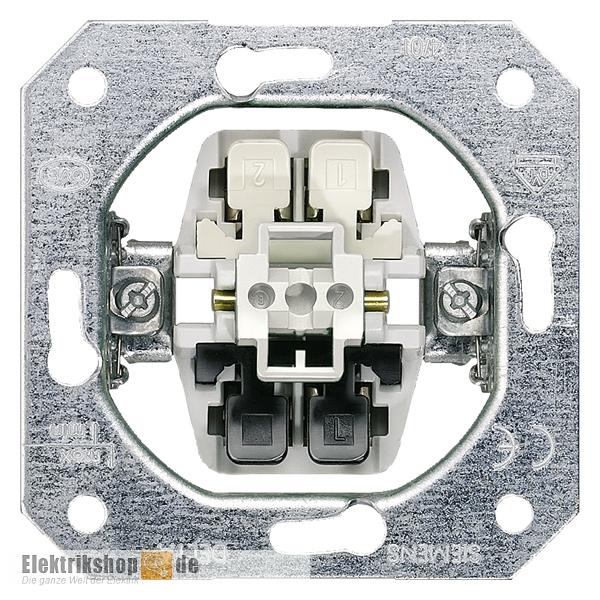Universalschalter AUS/Wechsel Schaltereinsatz UP 5TA2156 SIEMENS