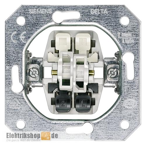 Serienschalter Schaltereinsatz UP 5TA2155 SIEMENS
