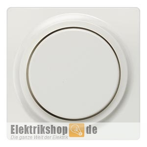 Dimmer Abdeckplatte Drehknopf 5TC8900 titanweiß SIEMENS