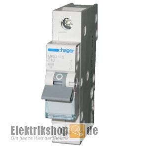 KOPP Leitungsschutzschalter Sicherung Automat 1 polig B10 A