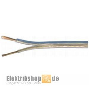 100m Spule Lautsprecherleitung 2x1,50 transparent