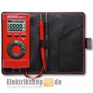 Pocket Multimeter MM P3 044084 Benning