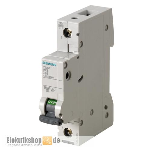 Siemens 5SL6116-6 B 16A Leitungsschutzschalter - Elektrikshop.de