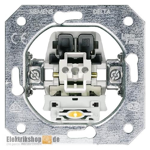 Beliebt Siemens 5TA2150 Kontrollschalter DELTA mit LED - Elektrikshop.de FH91