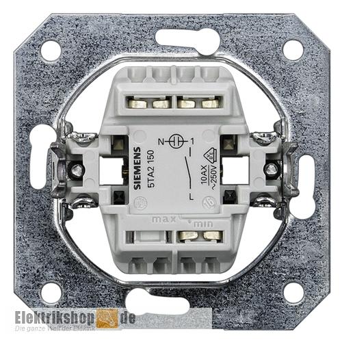 Top Siemens 5TA2150 Kontrollschalter DELTA mit LED - Elektrikshop.de CN24