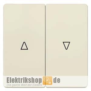 Wippe Jalousie 2-fach mit Symbolen cremeweiß 5TG6284 SIEMENS