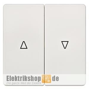 Wippe 2fach mit Symbolen Auf-Ab titanweiß 5TG6214 SIEMENS