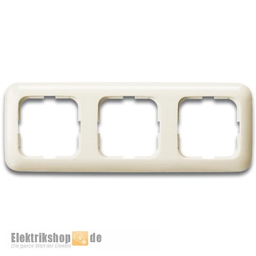 Busch Jaeger Rahmen 3-fach 2513-212 Duro 2000 SI weiß