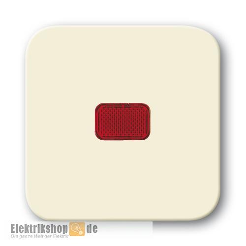 busch jaeger 2509 212 kontroll wippe mit roter kalotte. Black Bedroom Furniture Sets. Home Design Ideas