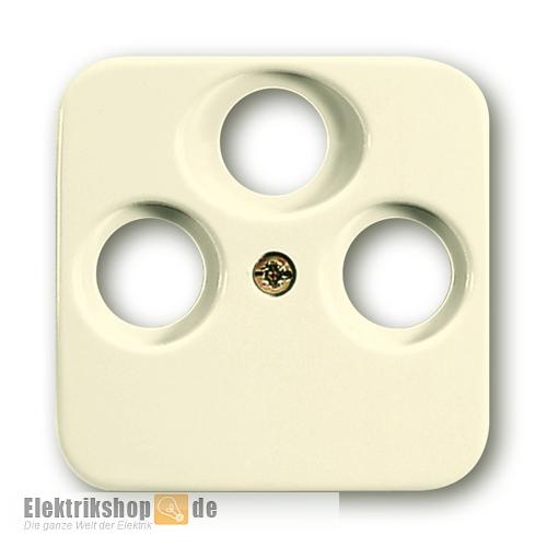 busch j ger 1743 03 212 3 loch zentralscheibe antennensteckdose. Black Bedroom Furniture Sets. Home Design Ideas