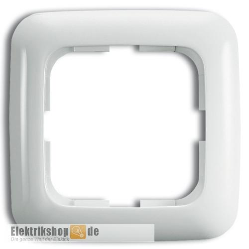 Busch Jaeger Rahmen 1-fach 2511-214 Reflex SI alpinweiß
