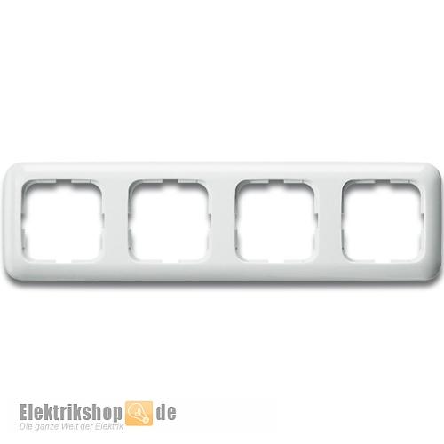 Busch Jaeger Rahmen 4-fach 2514-214 Reflex SI alpinweiß