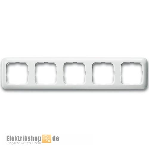 Gut bekannt Busch Jaeger Rahmen 5-fach 2515-214 Reflex SI alpinweiß ZL87