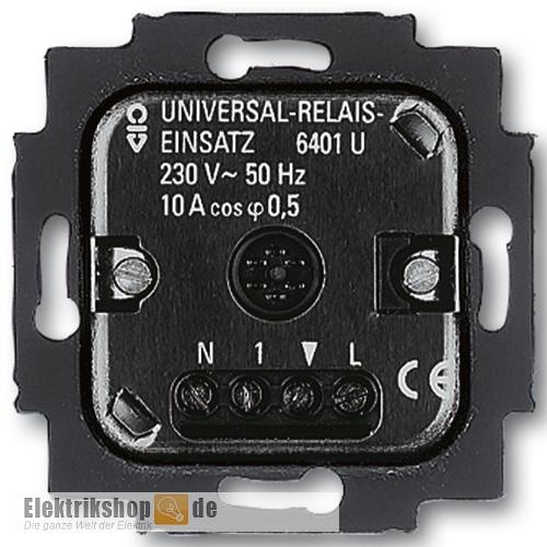 Busch-Wächter Universal-Relaiseinsatz 6401 U-102 Busch Jaeger