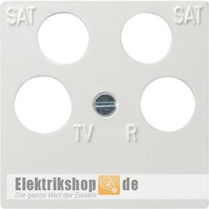 abdeckung antenndendose 4 loch reinwei 025903 gira. Black Bedroom Furniture Sets. Home Design Ideas