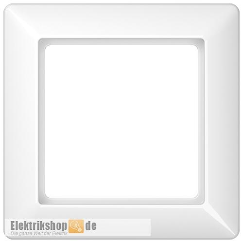 Rahmen 1-fach alpinweiß AS 581 WW Jung