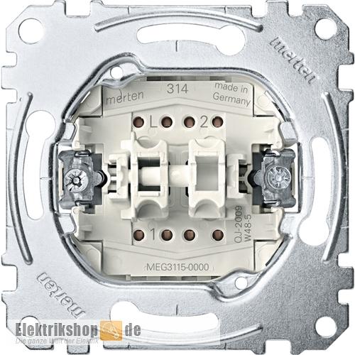 Serienschalter-Einsatz 1-polig MEG3115-0000 Merten
