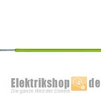 100m Ring H07V-U 6 PVC-Aderleitung eindrähtig grün/gelb