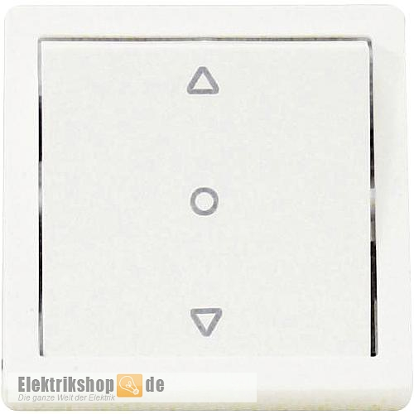 Wippe Jalousie-Schalter mit Nullstellung Karre reinweiß EGB VIKO