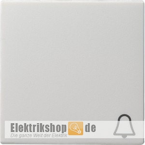 Wippe Symbol Klingel reinweiß seidenmatt 028627 Gira
