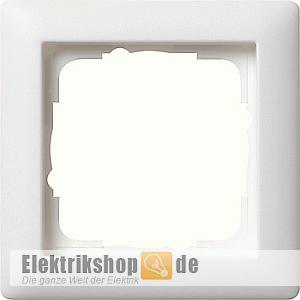 Abdeckrahmen 1-fach Rahmen reinweiß seidenmatt 021104 Gira