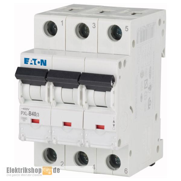 Moeller Eaton PXL-B40/3 B 40A Sicherungsautomat 3-polig