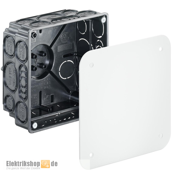 kaiser 1095 01 verbindungskasten 100 unterputzdose verteilerdose up. Black Bedroom Furniture Sets. Home Design Ideas