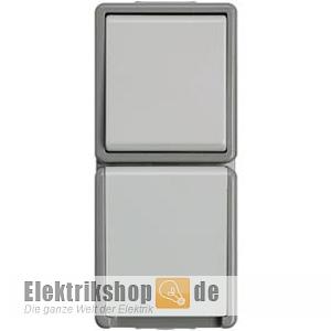 kombination schalter steckdose delta fl che ip44 5ta4816 siemens aufputz ebay. Black Bedroom Furniture Sets. Home Design Ideas