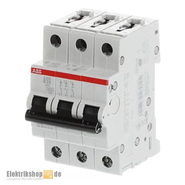 Leitungsschutzschalter LSS B 32A 3 polig Sicherung Sicherungsautomat 3-polig