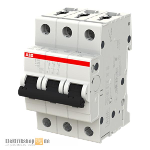 3C20 Leitungsschutzschalter C-20A 3polig S203-C20 ABB