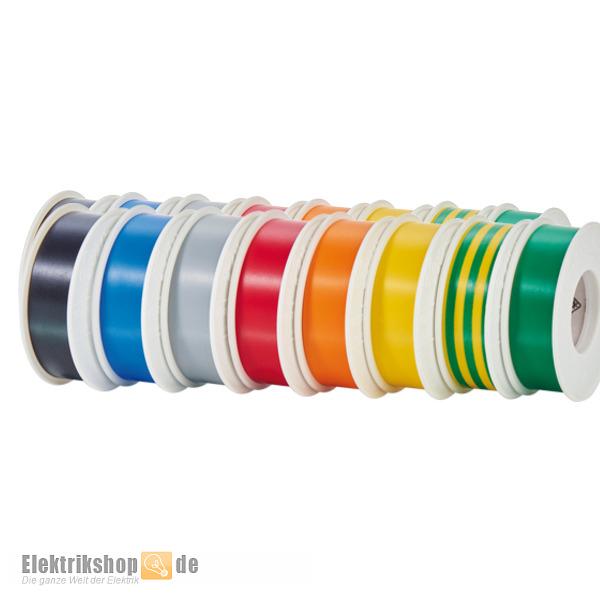 10m Rolle Elektro Isolierband 15mm div. Farben Temflex Scotch3M