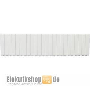 Abdeckstreifen weiß abbrechbar für 12 TE 7290032 F-tronic