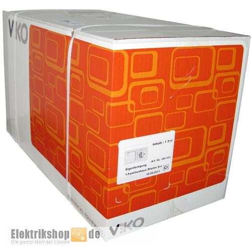 Meridian 1-Familienhaus Spar-Set reinweiß EGB VIKO