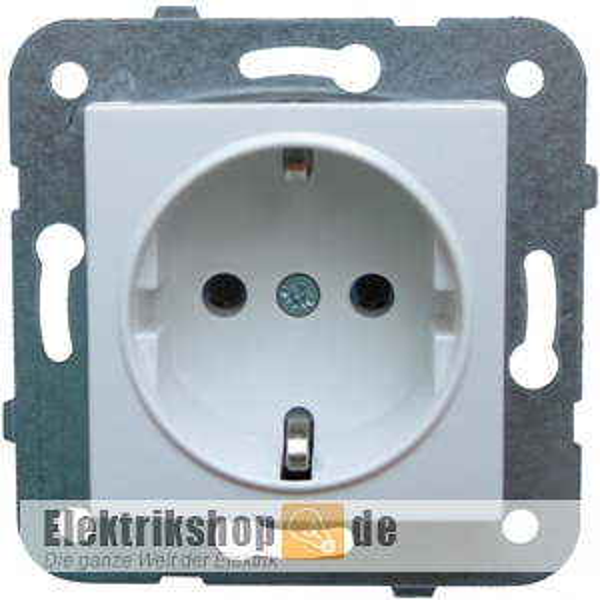 Meridian Steckdose Kombi-Einsatz reinweiß EGB VIKO