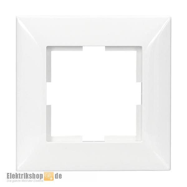 Meridian Rahmen 1-fach reinweiß EGB VIKO