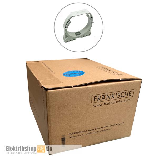 50 Stk. Klemmschelle M40 22370040 CLIPFIX40 Fränkische