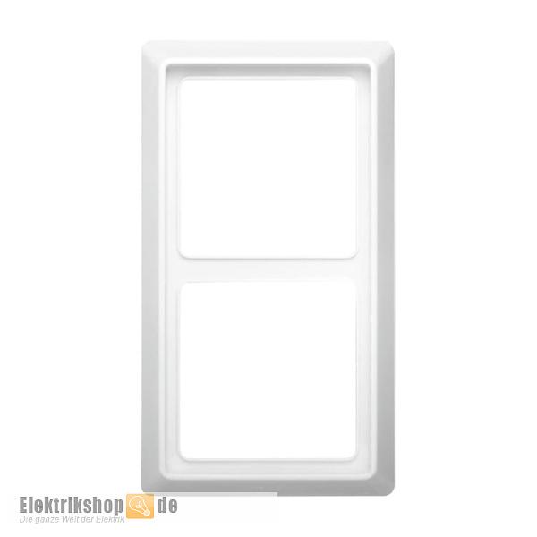 2-fach Rahmen Allwetter 44 alpinweiß 2102-34 Busch Jaeger