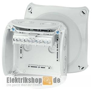 Abzweigkasten IP66/IP67 mit Klemmen 2,5-6 130x130 KF0606G Hensel
