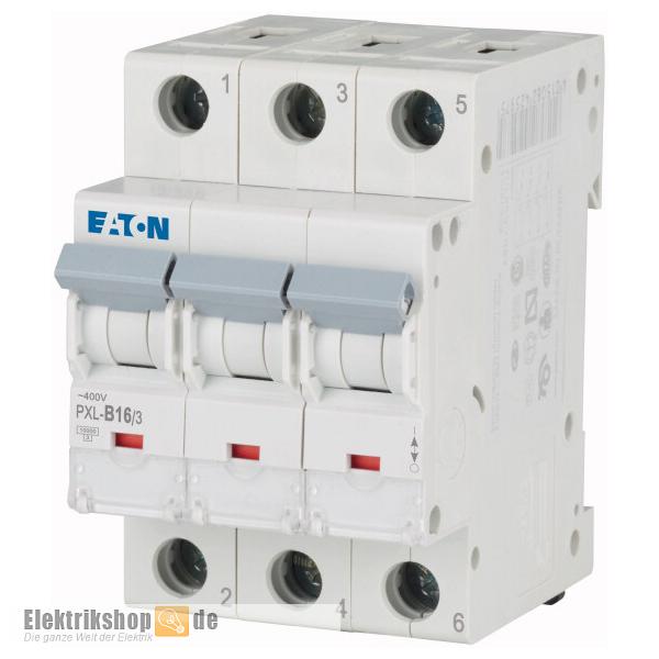 3B16 Leitungsschutzschalter B-16A 3polig PXL-B16/3 Moeller Eaton