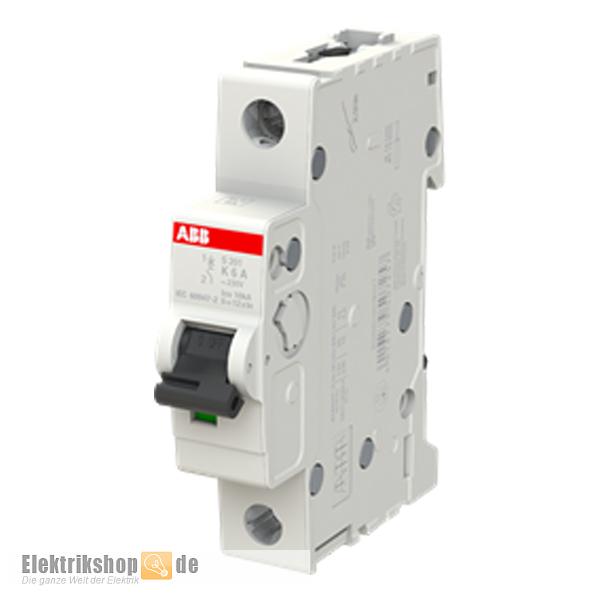 1K6 Leitungsschutzschalter K-6A 1polig S201-K6 ABB