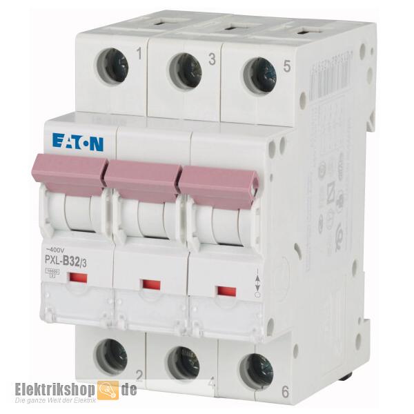 3B32 Leitungsschutzschalter B-32A 3polig PXL-B32/3 Moeller Eaton