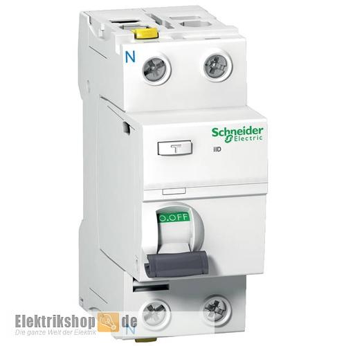 FI-Schutzschalter 25A 30mA 2-polig A9Z21225 Schneider Electric