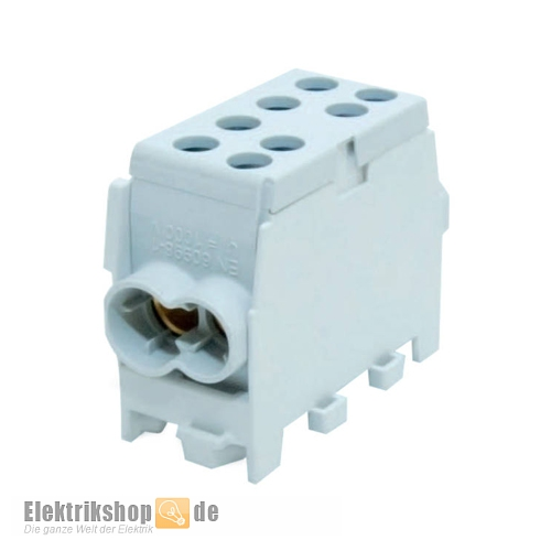 Hauptleitungs-Abzweigklemme grau HLAK25-1/2M2 2080136 Pollmann
