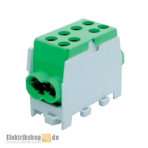 Hauptleitungs-Abzweigklemme grün HLAK25-1/2M2 2080138 Pollmann