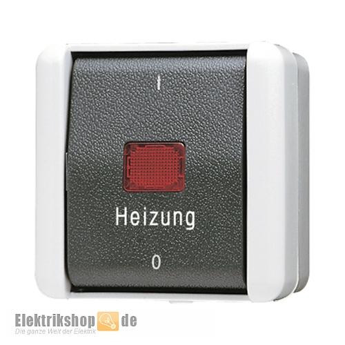 jung 802hw heizung notschalter 2 polig aufputz ip44 wg 800. Black Bedroom Furniture Sets. Home Design Ideas